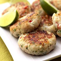 WeightWatchers.co.uk: Weight Watchers recipe - Spicy Fish and Prawn Cakes 2 Propoints