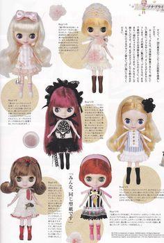 Petite Blythe Doll Kawaii Cute Simple One Piece by DollyAndPaws