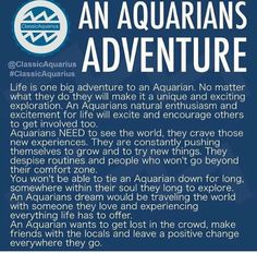 An Aquarians Adventure #astrology #aquarius ♒️