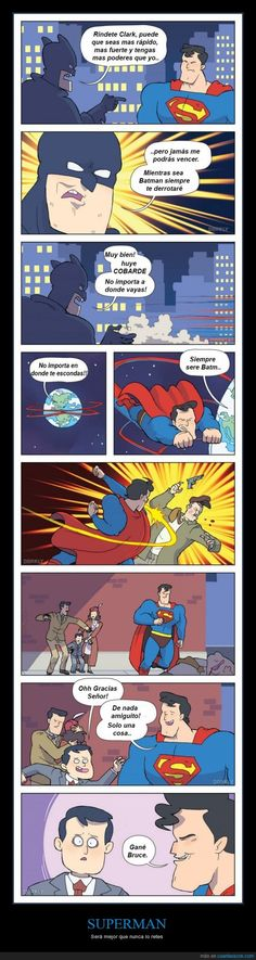 SUPERMAN - Será mejor que nunca lo retes Gracias a http://www.cuantarazon.com/ Si quieres leer la noticia completa visita: http://www.estoy-aburrido.com/superman-sera-mejor-que-nunca-lo-retes/