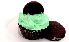 Thin Mints cupcake recipe