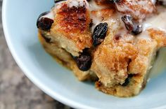 Pinning this just for the sauce.  I plan to drizzle this over the cream cheese blueberry bread. New Orleans Bourbon Bread Pudding with Bourbon Sauce