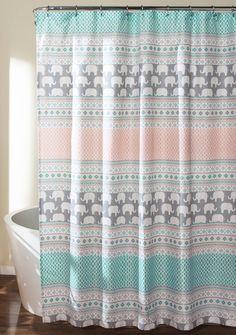 8 styles Boyouth Digital Print Shower Curtains
