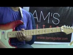Gary Moore inspired blues lick lesson (www.tamsguitar.com) - YouTube
