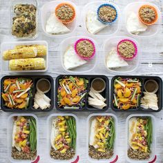 Happy meal prep Monday! This one is from several weeks back when I roasted up that amazing spatchcock chicken 🙂 Meal Plan: Day 1 Breakfast: Strawberry Peanut Butter Oatmeal Muffin... Continue Reading