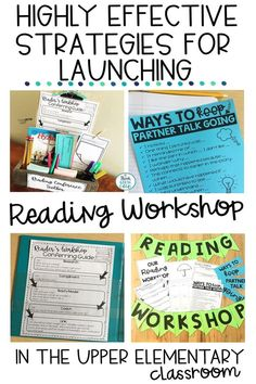 Are you read to launch reading workshop in your 3rd, 4th, or 5th grade classroom and are looking for some tips to help make your readers' workshop launching successful? These classroom tested and teacher approved strategies will help you run your reading workshop time effectively and successfully to help your students grow as readers. Anchor chart ideas and organizational strategies, plus FREEBIES are included! Click to read all the ideas and grab the free printables, too!