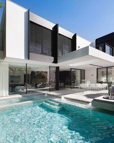 "7,146 Likes, 33 Comments - Architecture & Design (@_archidesignhome_) on Instagram: ""Home designed by Nixon Tulloch Fortey Architecture Location: Toorak, #Australia --- #luxury…"""