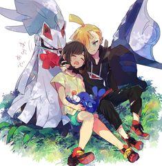Gladion x Moon Pokemon Mew, Pokemon Comics, Mew And Mewtwo, Pokemon Ships, Pikachu, Pokemon Moon And Sun, Pokemon Couples, Pokemon Collection, My Bebe