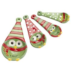 Pier 1 Holiday Owl Measuring Spoons