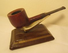 No-Name By Smoker's Haven Charatan's 2nd Straight Pot Briar Estate Tobacco Pipe