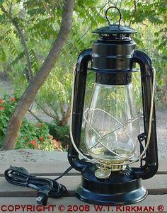 Check Out The Deal On Junior Electric Table Lamp At W Kirkman Oil And Lanterns