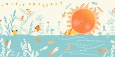 Poème du soleil couchant, Géraldine Cosneau.