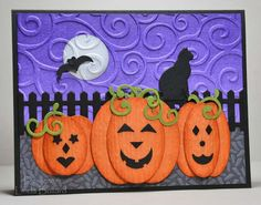 Pumpkin Fun by labullard - Cards and Paper Crafts at Splitcoaststampers