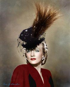 Marlene Dietrich    Uploaded By www.1stand2ndtimearound.etsy.com