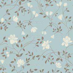 padrão floral vintage - Pesquisa Google