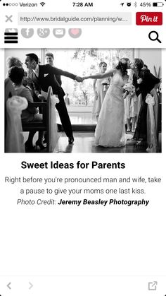 Getting Married? Have The Wedding Of Your Dreams With These Simple Tips Cute Wedding Ideas, Wedding Goals, Wedding Pictures, Perfect Wedding, Our Wedding, Wedding Planning, Dream Wedding, Wedding Inspiration, Wedding Stuff