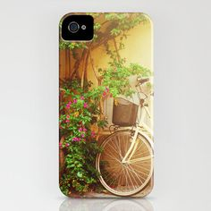 Bike iPhone 4 case Rome iPhone 4s case Italy iPhone by TiAmoPhoto