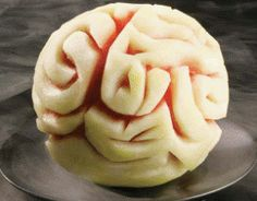 Melon brain. Love this for a Walking Dead Zombie Party in the Summer