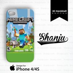 Minecraft Xbox Edition Design For iPhone 4/4S - Consumer Electronics