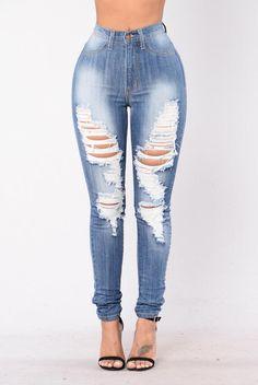 Felicity Jeans - Medium Wash