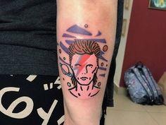 Tattoo uploaded to Tattoofilter David Bowie Tattoo, Pop Art Tattoos, Body Mods, Tattoos For Women, Tattoo Artists, Tatting, Body Modifications, Female Tattoos, Bobbin Lace