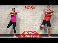 30 Min Low Impact Cardio Workout for Beginners - HIIT Beginner Workout Routine at Home for Women Men - YouTube