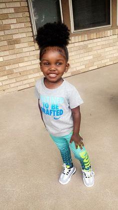 Cute Black Babies, Beautiful Black Babies, Black Kids, Cute Little Girls, Beautiful Children, Cute Babies, Cute Kids Fashion, Baby Girl Fashion, Darkskin Babies