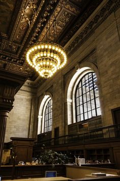 The breathtaking New York Public Library.