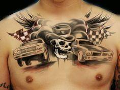 34 Chest tattoo joachim
