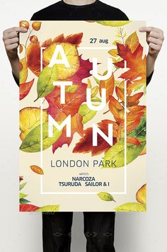 Autumn Party — PSD Template #outdoor #autumn sale • Download ➝ https://graphicriver.net/item/autumn-party/18029906?ref=pxcr