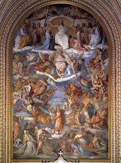 "Peter von Cornelius - ""Last Judgment,"" in the Ludwigskirche in Munich"