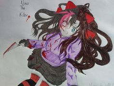 Nina The Killer/Nina Hopkins by Nightmare-Kat on DeviantArt