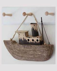 vintage style boat hanging