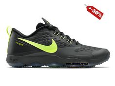 Nike Officiel Pas Cher Nike Zoom Hypercross TR Chaussure de Training pour Homme Noir - Vert 684620-070