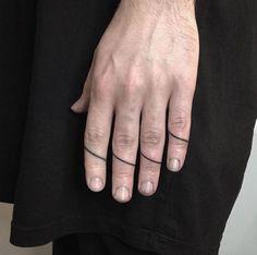 Cool finger tattoo inspiration