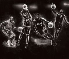 House of Hoops 2 – Project by Mike Harrison | Inspiration Hut - digital graphics