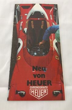 Original Heuer Katalog 1973, Carrera, Monaco, Autavia  | eBay Carrera, Monaco, Chronograph, The Originals, Ebay, Catalog, Munich