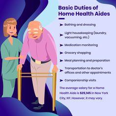 Basic Duties of Home Health Aides Home Health Services, Health Care Agencies, Home Health Care, Jacksonville Beach, Dementia Activities, Elderly Activities, Craft Activities, Physical Activities, Senior Health Care
