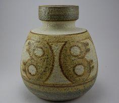 Large Soholm Erika vase.Danish Stoneware by ScandicDiscovery