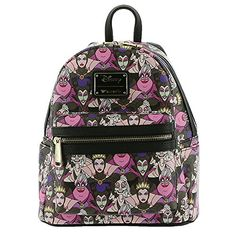 de65e628c1cd Buy Loungefly Disney Villains Mini Faux Leather Backpack online.  Allfashiondress
