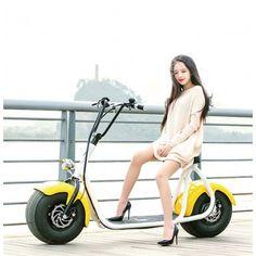 Coco E-Roller e-bike Big Jumper City Roller mit EABS Hydraulik Bremssystem zum Besten Preis online kaufen