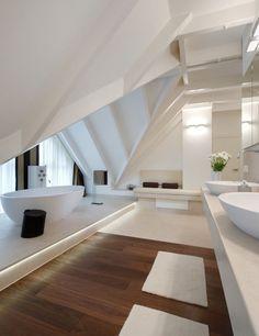 Future House, Dream Home Design, House Design, Loft Design, House Goals, Bathroom Interior Design, Bathroom Inspiration, Interior Architecture, New Homes