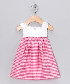 Fuchsia Analee Crocheted Dress | I would like to try to make a similar dress.