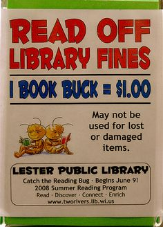 One Book Buck = One Dollar | by Lester Public Library