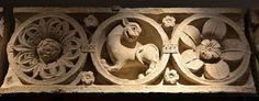 Cluny (Saône-et-Loire) - Abbaye - Palais Jean de Bourbon (Musée Ochier) - Frise du narthex   Flickr - Photo Sharing!