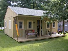 Shed Plans - Man Cave or Woman Cave or just a time out shed for everyone. Now You Can Build ANY Shed In A Weekend Even If You've Zero Woodworking Experience! Backyard Storage Sheds, Backyard Sheds, Outdoor Sheds, Shed Storage, Garden Sheds, Garden Houses, Outdoor Storage, Man Cave Shed Plans, Man Shed