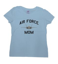 Air Force Mom Shirt - Great Gift for Mom on Any Occasion!  Love this design? Why not consider one for an Air Force Dad: