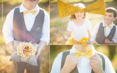 Sweet yellow bow tie