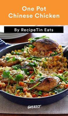 4. Chinese Chicken #healthy #chicken #recipes http://greatist.com/eat/easy-chicken-recipes-one-dish-dinner-ideas
