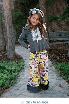 Persnickety....love these pants! Can't wait for Delaney to wear them!